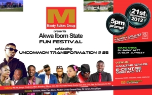 MONTY SUITES GROUP HOSTS THE FIRST AKWA-IBOM MUSIC FESTIVAL
