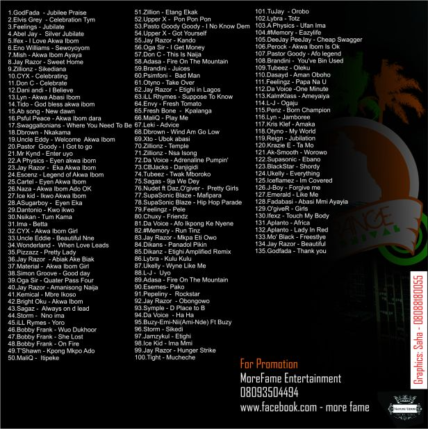 Akwa Ibom All Stars MP3 (Back View)