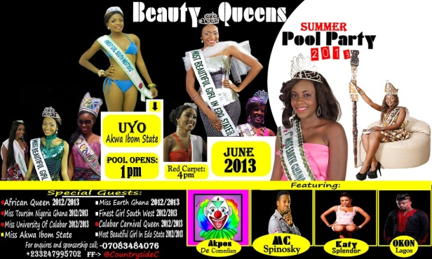Beauty Queens Summer Pool Party