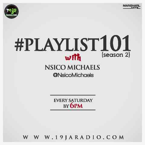 [Radio Show] CyndyO (@iamCyndyO) on #Playlist101 Radio Show With @NsicoMichaels