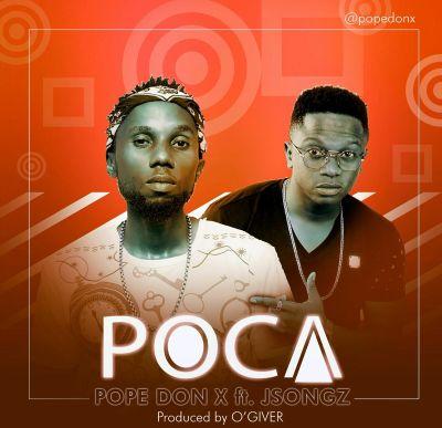 PopeDonX - Poca (Album Art)